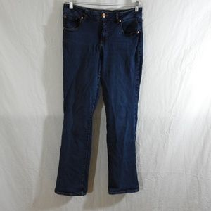 Jag Jeans Size 14 Mid Rise Boot Leg